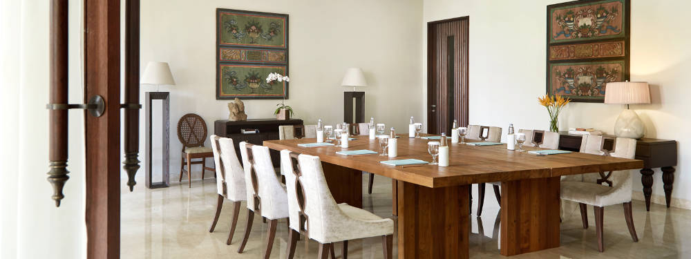 Board Meeting Room Package at Kamandalu Ubud, Bali