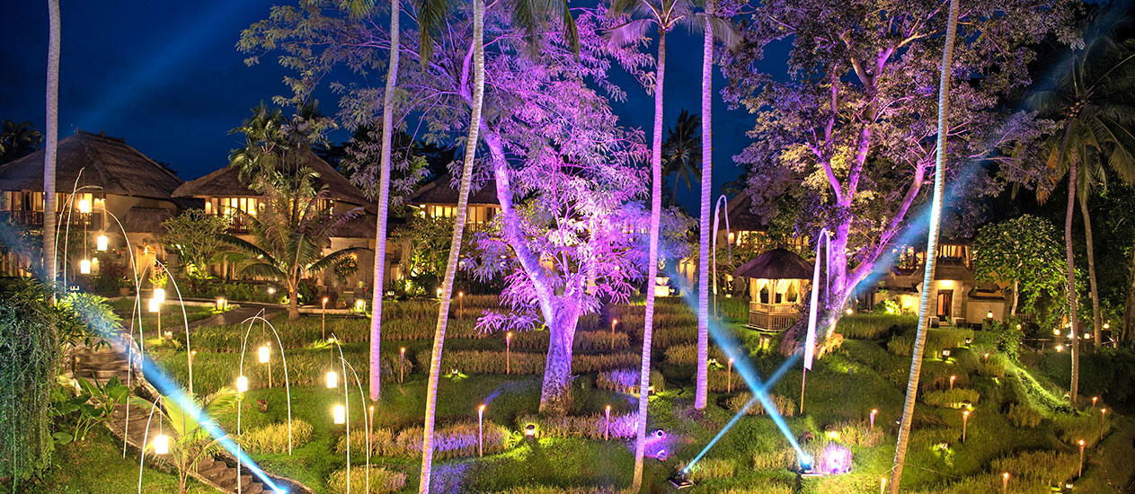 The list of regular and special events at Kamandalu Ubud, Bali