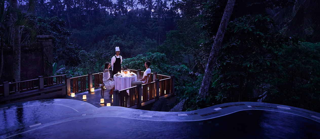 In-Villa Barbecue, BBQ experience at Kamandalu Ubud, Bali - Barbeque in villa