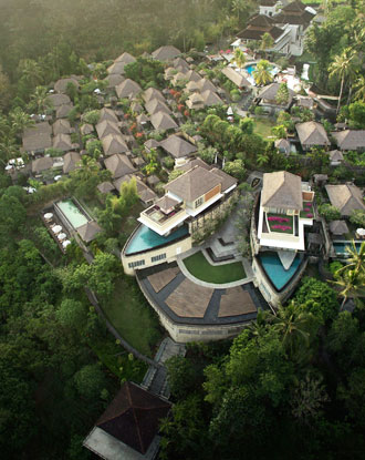 Kamandalu Ubud Resort, Bali - A five stars resort in Ubud