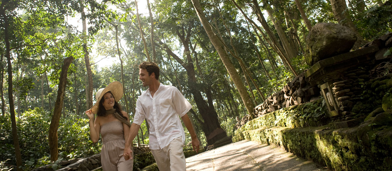 Monkey Forest, Eat Pray Love Package at Kamandalu Ubud, Bali