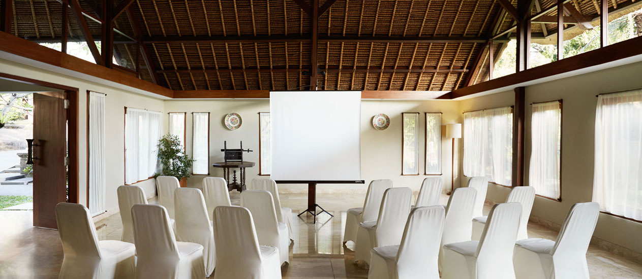 Paruman Meeting Room at Kamandalu Ubud, Bali
