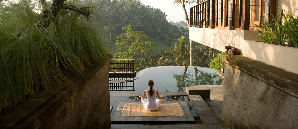 Yoga Retreat, Kamandalu Ubud, Bali